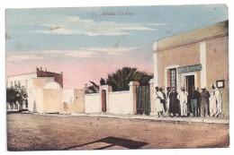 CPSM Zarzis Tunisie La Poste Animée édit A. Muzi à Sfax N°1 Non écrite Bon état - Tunisia