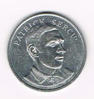 °°°  PENNING BP  PATRICK  SERCU - Pièces écrasées (Elongated Coins)