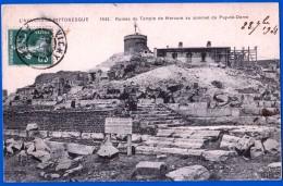 CPA L'AUVERGNE PITTORESQUE N° 1943 CLERMONT-FERRAND 63000 ÉCRITE EDIT VDC ELD RUINES DU TEMPLE DE MERCURE AU SOMMET DU P - Clermont Ferrand