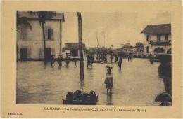 -DAHOMEY -inondations De COTONOU 1925 - Le Retour Du Marché -   Ed. E. R. - Dahomey