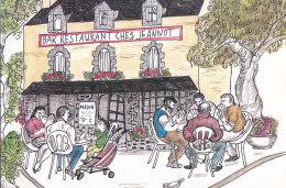 CPM Riec Sur Bélon - Chez Jeannot - Bar Restaurant - Autres Communes
