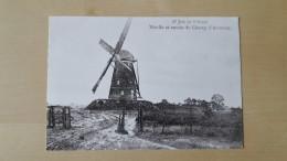 Sint Job In 't Goor Moulin Et Entrée Du Champ D'aviation Foto Reproductie - Brecht