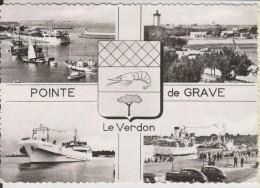 D33 - POINTE DE GRAVE - LE VERDON - (BLASON - PEUGEOT 203) - CPSM Grand Format - France