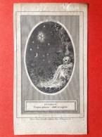 DOODSPRENTJE - KNEKEL PRENTJE - DOODSHOOFD - JOSEPHUS DE BACKER LOKEREN 1849 - Religion & Esotérisme