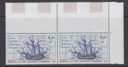 "TAAF 1979 Ship ""Victoria"" 1v Pair ** Mnh (TA202A) - Ongebruikt"
