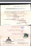 520999,Reklame Beleg Styria Wien 1 N. Pösseneck Fa. Knopfe 1933 - Werbepostkarten