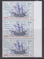 "TAAF 1979 Ship ""Victoria"" 1v Strip Of 3v ** Mnh (TA202B) - Franse Zuidelijke En Antarctische Gebieden (TAAF)"