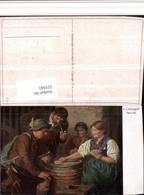521941,Künstler AK F. V. Defregger Her Aß Kartenspiel Spiel Pfeife - Spielzeug & Spiele