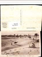 521780,Scenes Et Types Paysage Saharien Desert Typen Kamele - Afrique