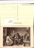 521942,Künstler AK D. Teniers Joueurs De Cartes Kartenspiel Spiel - Spielzeug & Spiele