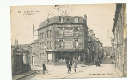 Eu - La Rue De La Poste Et La Chaussée - 1916 - Eu