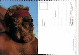 521710,Australia An Elder Of The Pitjantjatjara Tribe Volkstyp Type - Océanie