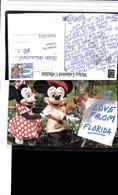 522014,Florida Comic Mickey Mouse U. Minni Maus Farbpalette Staffelei - Comicfiguren