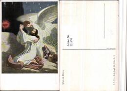 521970,Künstler AK Gebh. Fugel Jesus Am Ölberg Engel - Engel