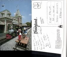 522016,Disneyland Comic Train Station Mickey And Donald Duck - Comicfiguren
