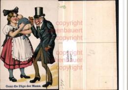 518597,Künstler AK Humor Baby Po Doktor Zylinder Hut Brille Ganz Die Mama - Humor
