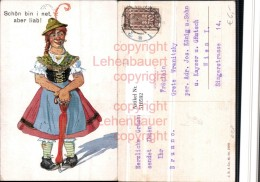 518592,Künstler AK Exzentriker Mann In Frauenkleider Humor - Humor