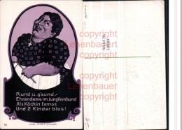 518589,Künstler AK Karl Maria Stadler Jungfrau Frauenfeindlicher Humor - Humor