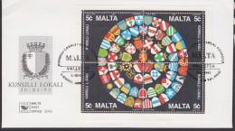 Malta 1993 Local Council M/s FDC (F5477) - Malta