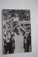 "MOSCOW TEAM ""Dinamo"" Moscow - Old  USSR POSTCARD 1985 - Stade - Stadium - Calcio"