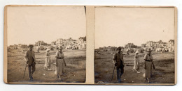 Lot De 3 Photos Stéréos - Le CROTOY - 1921 - Stereo-Photographie
