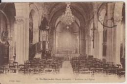 D33 - ST SAVIN DE BLAYE - INTERIEUR DE L'EGLISE - Andere Gemeenten