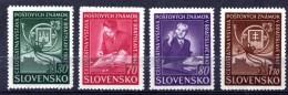 ESLOVAQUIA. AÑO 1942. Mi 98/101 (MNH) - Slovakia