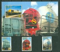 Belgique/België 2000 OBP/COB TRV 14/16**, Bl 2** MNH, Neuf Sans Charnière / Nieuw Zonder Scharnier - 1952-....