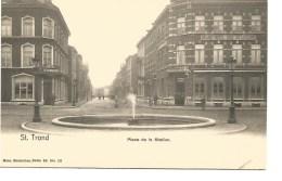 K2. ST. TROND  - SINT-TRUIDEN  -  Place De La Station. - Sint-Truiden