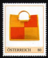 ÖSTERREICH 2015 ** Stofftasche 70er Jahre - PM Personalisierte Marke MNH - Textil