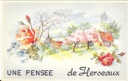HERSEAUX -  UNE PENSEE DE - Belgique