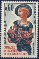 1449   CAMPAGNE De L'ACCUEIL  NEUF ** ANNEE 1965 - Nuovi