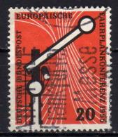 BRD 1955 - MiNr: 219 Fahrplankonferenz - Gebraucht