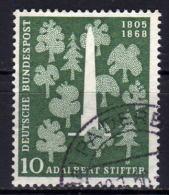 BRD 1955 - MiNr: 220 Dichter Stifter Used - Gebraucht