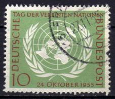 BRD 1955 - MiNr: 221 Used - Gebraucht