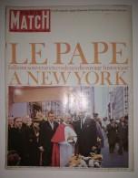 Paris Match N°862 Du 16/10/1965 Commando U.S. - Arc De Triomphe : Sea Bird - Paul VI à New-York - Djakarta - Bardot - Informations Générales