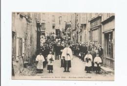 PAROISSE D'AZAT LE RIS (87) OSTENSIONS DU DORAT 1918 (BELLE ANIMATION) - Otros Municipios