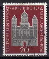BRD 1956 - MiNr: 238 Abteikirche Maria Laach  Used - Gebraucht