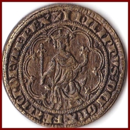 Jeton PHILIPPE LE BEL Masse D´or 1296 Collection BP Trésor Rois De France 5 G Pièce Monnaie Etat TTB Publicité - Royal / Of Nobility