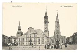 K9. SINT-TRUIDEN - ST.TROND  - La Grande Place. - Beschreven Kaart 1907 - Sint-Truiden