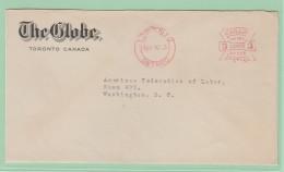 OM2   EMA   The Globe Toronto Ontario  Canada  25 FEB 70 - Postal History