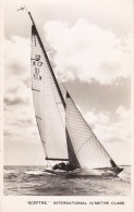 "RP: Sailing Vessel ; ""SCEPTRE"" International 12 Metre Class , 30-50s - Sailing Vessels"