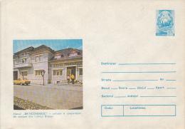 TOURISM, BRNCOVEANU INN, CAR, COVER STATIONERY, ENTIER POSTAL, 1979, ROMANIA - Holidays & Tourism