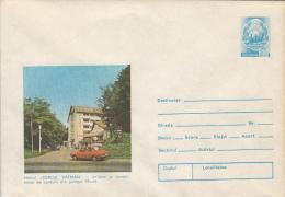 TOURISM, DEALUL VATMAN INN, CAR, COVER STATIONERY, ENTIER POSTAL, 1979, ROMANIA - Holidays & Tourism