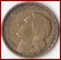 Franc 20 Francs Georges GUIRAUD Plumes 3 Faucilles 1950 Bronze Aluminium  F 401_1 - L. 20 Francs