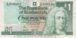 (B0373) SCOTLAND, 1988. 1 Pound. P-351a. VF - [ 3] Scotland