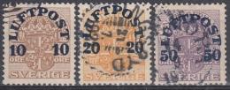 Suecia 1920 Nº A-1/A-3 Usado