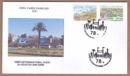 AC - TURKEY FDC - 78th IZMIR INTERNATIONAL EXHIBITION IZMIR 28 AUGUST 2009 - FDC