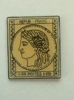 Pin´S TIMBRE 1Fr FRANCAIS - Pin's