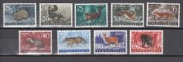 Yugoslavia 1960,9V,set,animals,dieren,tiere,animaux,animales,animali,MNH/Postfris(A2609) - Gibier